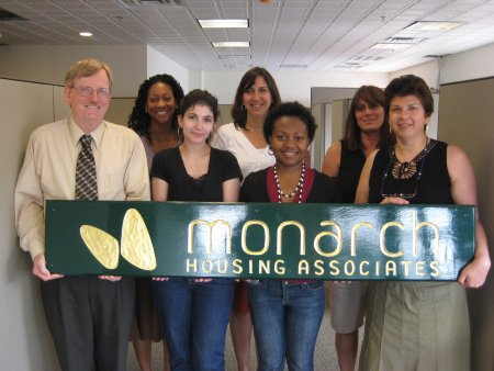 Monarch's new office!