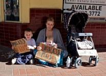 Homeless Family