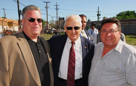 Congressman Pascrell at the May 7, 2010, Ground Breaking for Paterson Park Apartments.