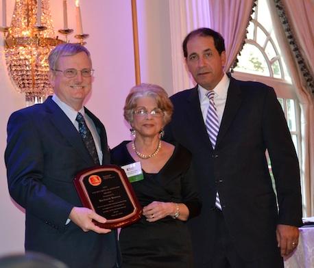 Richard W. Brown, Carolyn Beauchamp and Senator Joseph F. Vitale