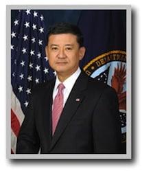 Secretary of the Department of Veterans Affairs Eric K. Shinseki