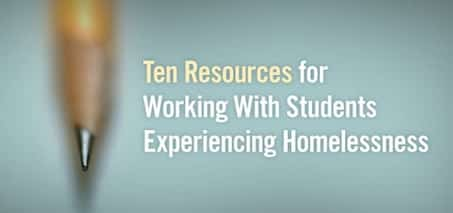 Resources for Homeless Students
