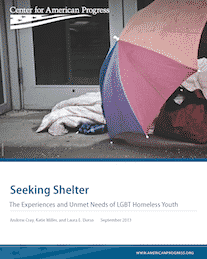 LGBT Youth More Likely to be Homeless