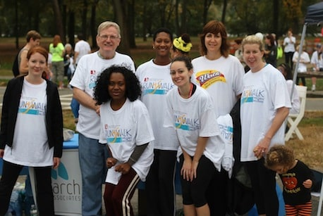 Monarch Housing Staff at the Run/Walk