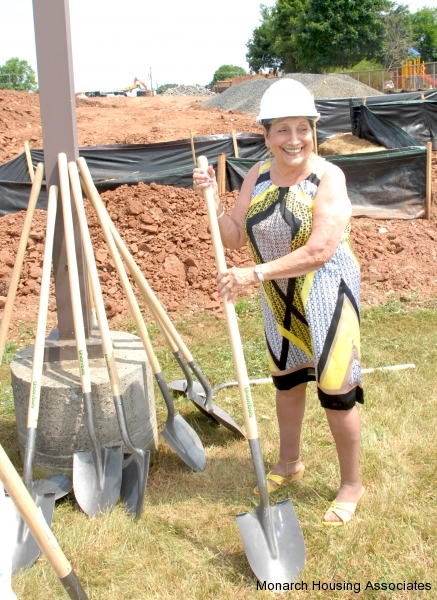 74 - Madeline with shovel
