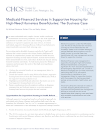 Brief Makes Case for Medicaid-Financed Services in SH
