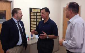 LoBiondo Visits Supportive Housing Tenant in Margate