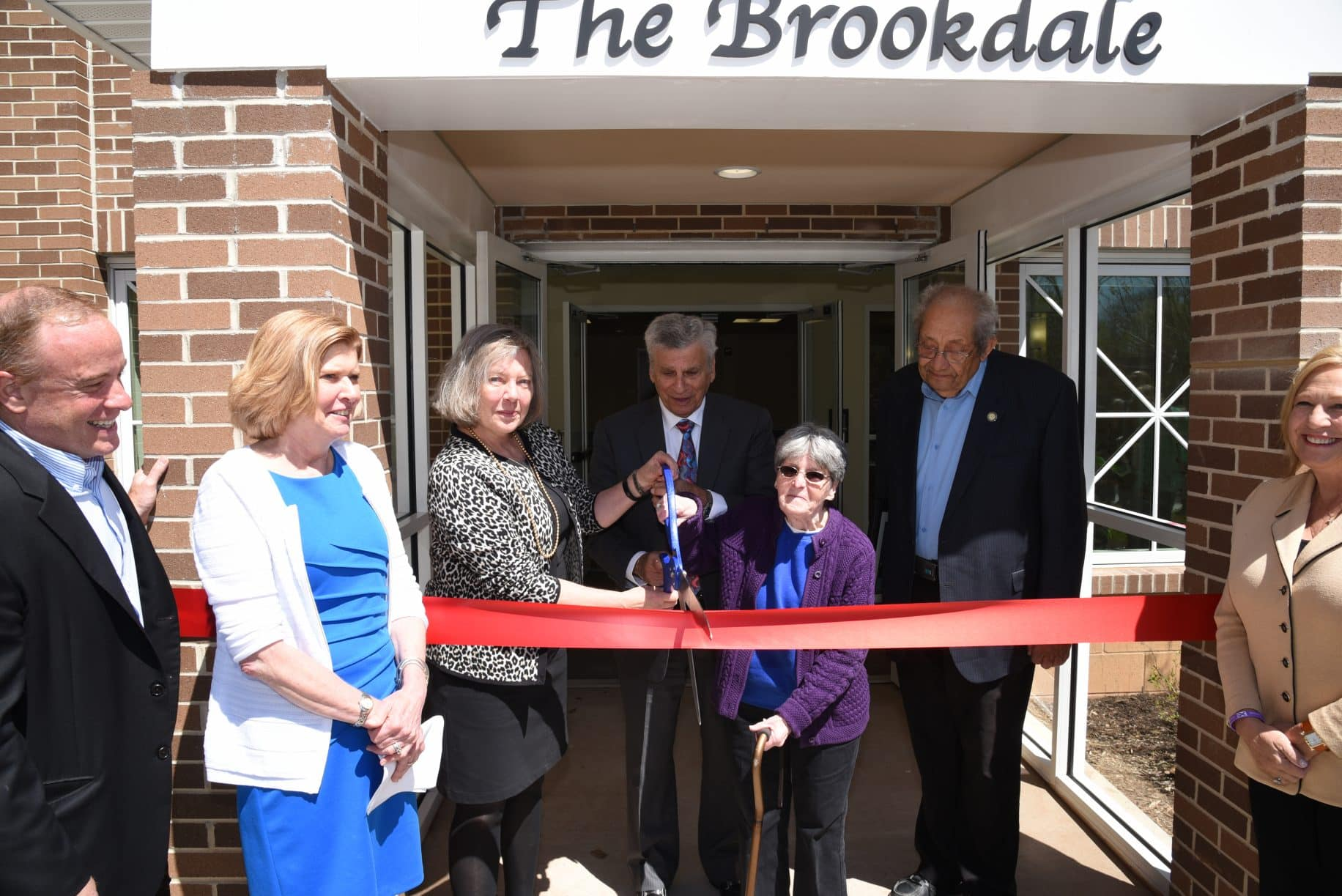 ribbon cutting held for brookdale senior housing in teaneck