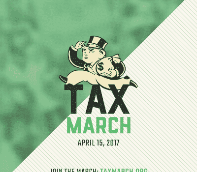 National Tax March to Demand Tax Fairness and Government Transparency