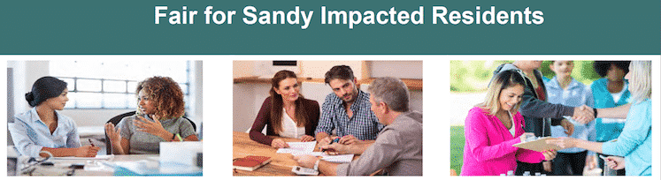 Housing Resource Fairs for Sandy Impacted Households