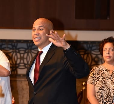 Senator Cory Booker at Congressional Reception