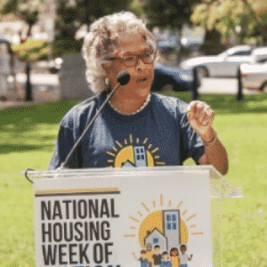 On July 26, 2017, NLIHC Held an Our Homes Our Voices on Capitol Hill
