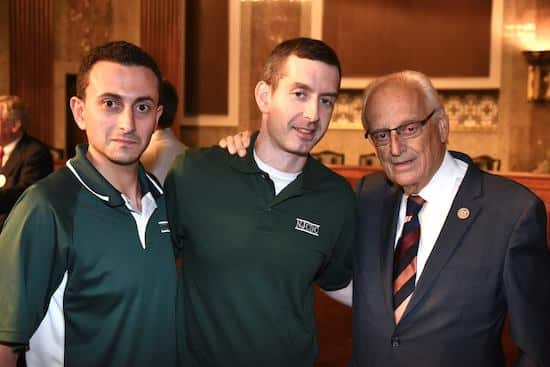 Congressman Pascrell Addresses 40 Constituents at Hill Day