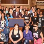 Congressman Donald Payne, Jr. Addresses Over 60 Constituents at Hill Day