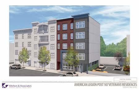 Hoboken's American Legion Post 107 Breaks Ground for Supportive Housing