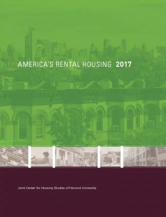 Harvard Rental Housing Study Highlights High Level of Cost Burdens for Lowest Income Households