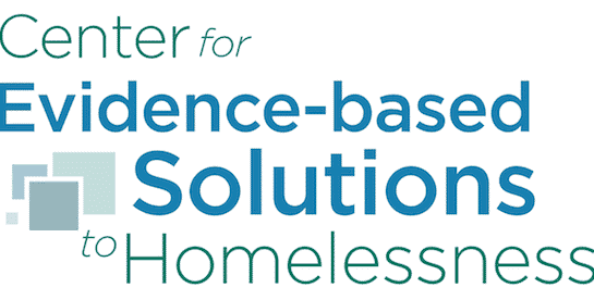 Center for Evidence-Based Solutions to Homelessness