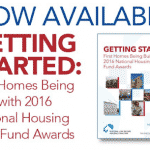 First Homes Being Built with Housing Trust Fund Awards